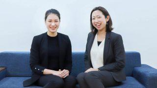 左:株式会社ゴーリスト ド・ティ・トゥイ/右:Career Fly株式会社 羽二生 知美(はにゅう・ともみ)