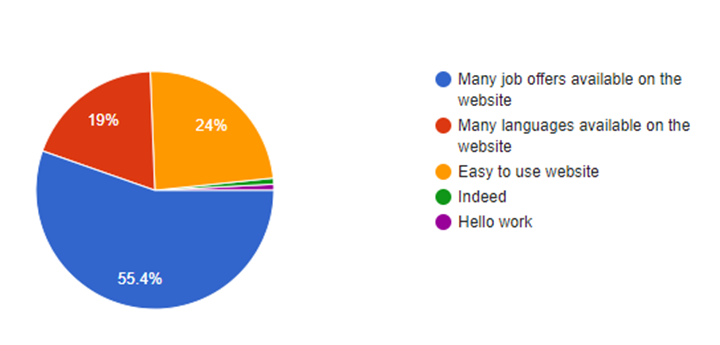 What is the most important feature of human resource/job search sites?